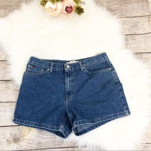 Tommy Hilfiger Boyfriend Denim Shorts Vintage 2001